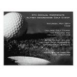 "Golf Event Party Invitations 4.25"" X 5.5"" Invitation Card"