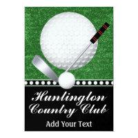 Golf Event - SRF Invitation