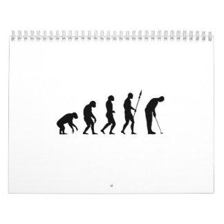 golf evolution calendar