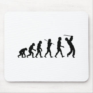 Golf Evolution Fun Sports Mouse Pad