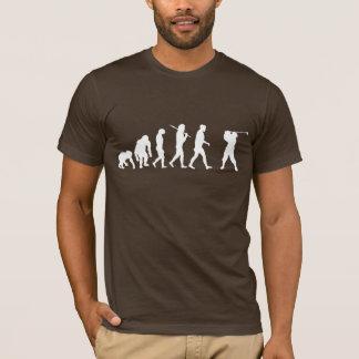Golf Evolution golfers golfing club house gift T-Shirt