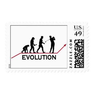 Golf Evolution Stamps