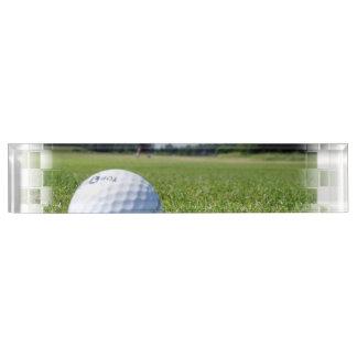 Golf Fairway Desk Name Plate