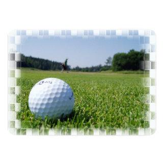 Golf Fairway Announcement