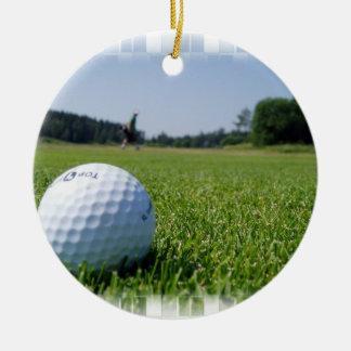 Golf Fairway Ornament