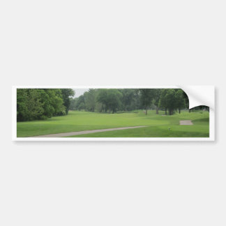 Golf Fairway Print Bumper Sticker