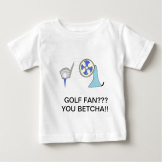 golf fan products baby T-Shirt