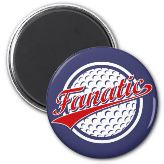 Golf Fanatic 2 Inch Round Magnet