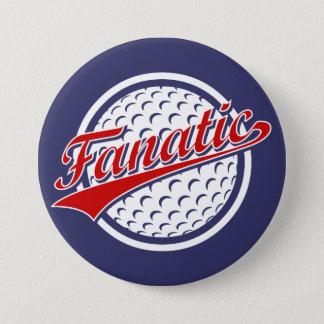 Golf Fanatic Button