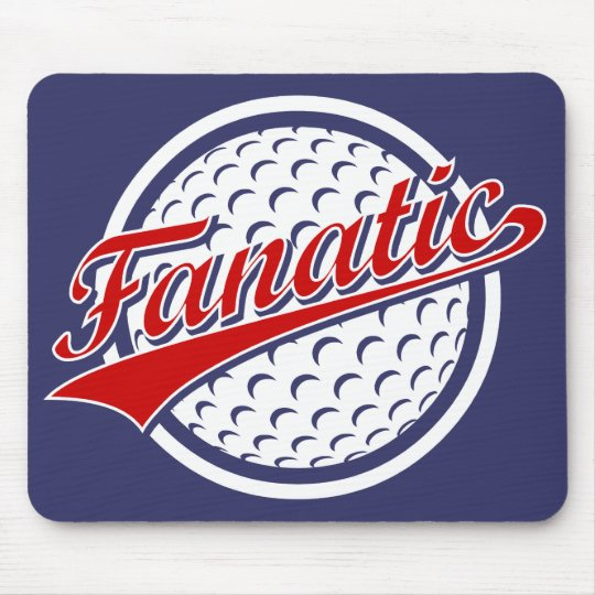 Golf Fanatic Mouse Pad
