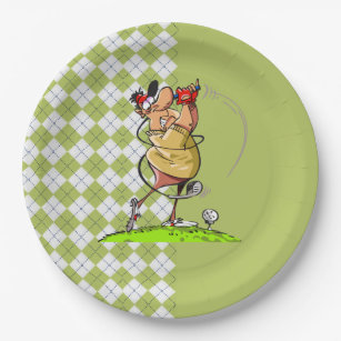 Golf Father\u0027s Day Party Paper Plates  sc 1 st  Zazzle & Golf Fathers Day Plates | Zazzle