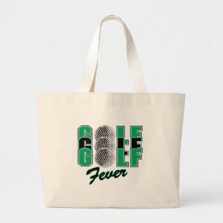 golf fever canvas bags
