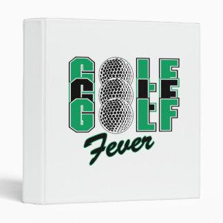 golf fever binders