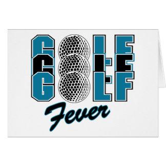 Golf Fever Cards