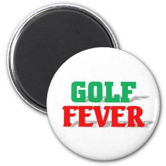 Golf Fever Refrigerator Magnet