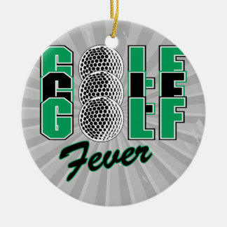 golf fever christmas tree ornaments