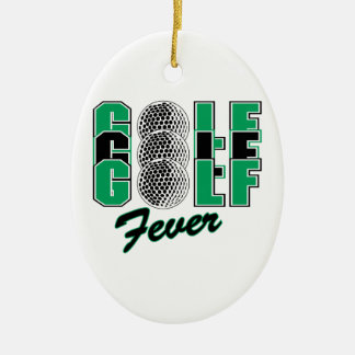 golf fever ornaments
