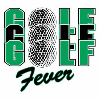 golf fever photo sculpture