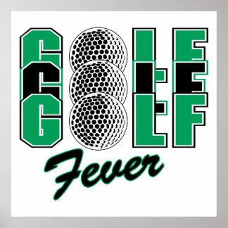 golf fever poster