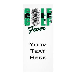 golf fever custom rack cards