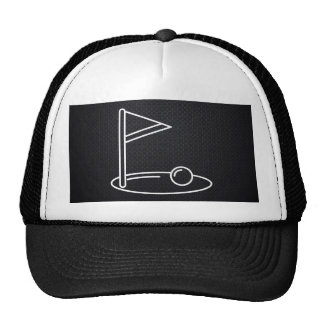 Golf Finishes Minimal Trucker Hat