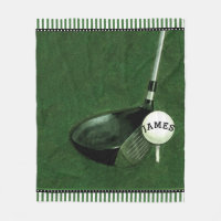 Golf Fleece Blanket