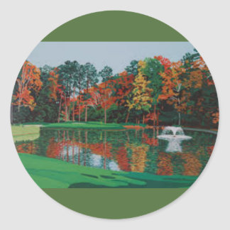 Golf Fountain Sticker