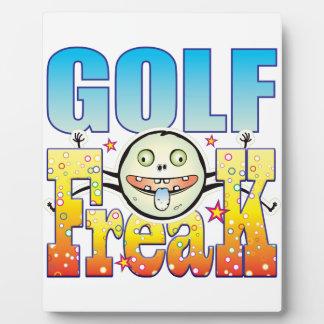 Golf Freaky Freak Display Plaques