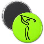 Golf Fridge Magnet