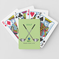 GOLF - Game for Life Bicycle Playing Cards
