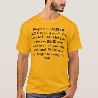 Golf Game T-Shirt