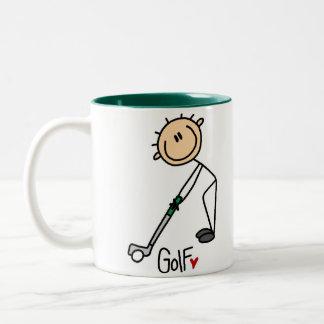Golf Gift Two-Tone Coffee Mug