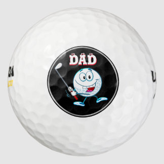 Golf Gifts for DAD, Custom Golf Balls Gifts Set