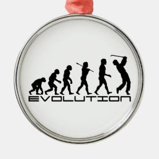 Golf Golfer Golfing Sport Evolution Art Christmas Tree Ornaments