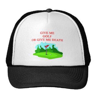 GOLF golfer joke Trucker Hat