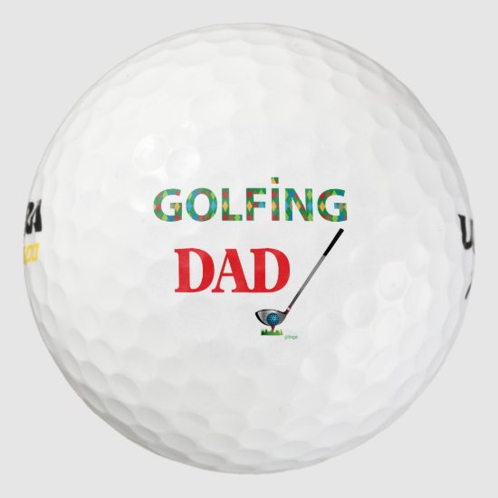 GOLF - GOLFING DAD, Cool Golf Balls