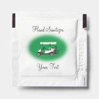 Golf Golfing Event Hand Sanitizer Packet