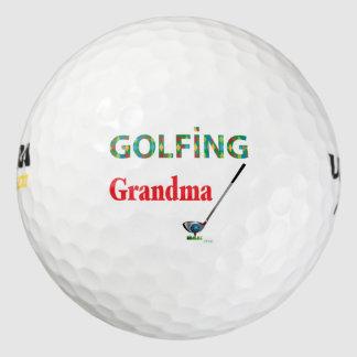 GOLF - GOLFING GRANDMA, Cool Golf Balls