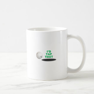Golf - golpearía ligeramente eso taza básica blanca