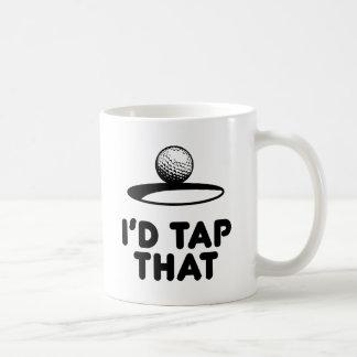 Golf - golpearía ligeramente eso tazas