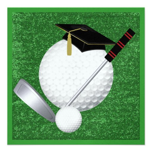 Golf  Graduation - SRF Invites