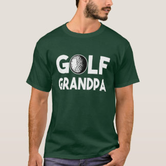 Golf Grandpa funny mens T-Shirt