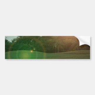 Golf Green Bumper Sticker Car Bumper Sticker