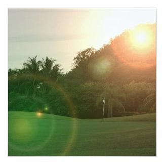 Golf Green Invitation
