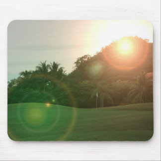 Golf Green Mouse Pad