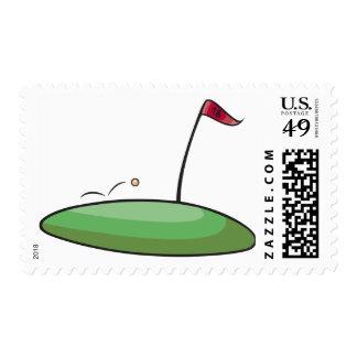 Golf Green Postage