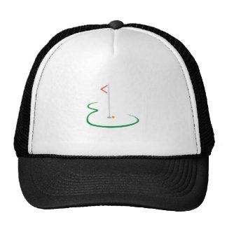 Golf Green Trucker Hat