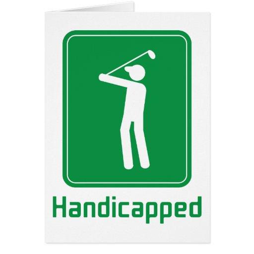 Golf - Handicapped Card