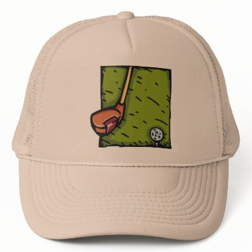 Beach Themed GOLF   HAT