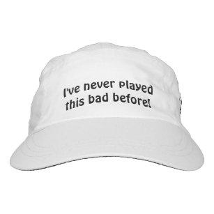 Golf Hat Funny Glare Reducer Visor 05a2dab03ef